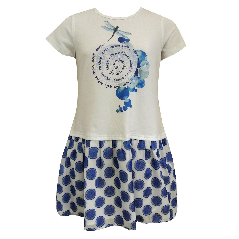 Pezzo D`oro Mädchen festliches Kleid Sommerkleid Abendkleid ...