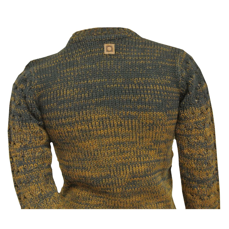 Jungen-Sweater-Strickpullover-langarm-braun