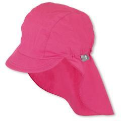 Mädchen Schirmmütze mit Nackenschutz, Sommermütze, LSF 50+, pink - 1521930