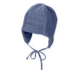 Baby Jungen Mütze mit Bund Wintermütze, blau