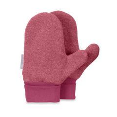 Mädchen Fäustlinge Handschuhe Fleece, rot - 4301620