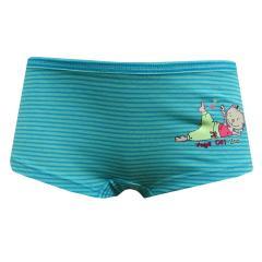 Mädchen Panty gestreift, blau - 6-156614