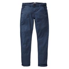 Jungen Hose mit Gürtel, Petrol Ind., größenverstellbar, dunkelblau - TRO583