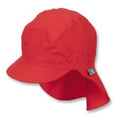 Mädchen Schirmmütze mit Nackenschutz, Sommermütze, rot - 1531430