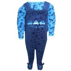 Baby Jungen Strampler-Set Automotiv, dunkelblau