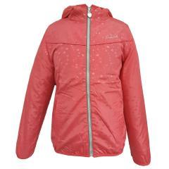 Outburst Mädchen Windjacke mit Innenstoff Regenjacke Winddicht und Wasserabweisend Herzchen pink/ grau - 6515118
