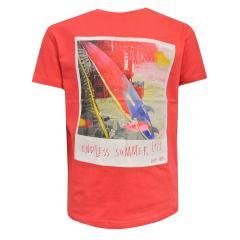 """Jungen Kids T-Shirt Kurzarmshirt """"Endless Summer"""", rot - 3039r"""