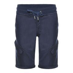 Jungen kurze Hose,  Cargo-Shorts mit verstellbarem Bund , dunkelblau -2211-4842-6308