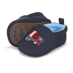 Baby Jungen Schuhe Krabbelschuhe, dunkelblau - 2301854