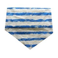 Baby Jungen Dreieckstuch Halstuch gestreift, blau - 73225128
