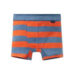Jungen Unterhose Shorty gestreift, orange - 163405