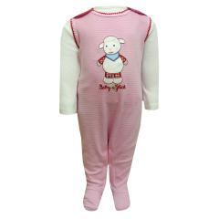 Baby Mädchen Strampler, rosa - 65824237