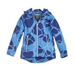 Jungen Jacke Softshelljacke Regenjacke Kapuze 10.000 mm Wassersäule winddicht atmungsaktiv, blau - 6824609
