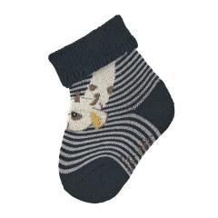 """Baby Jungen Socken Söckchen Erstlingssöckchen """"Giraffe Greta"""", marineblau - 8401981"""