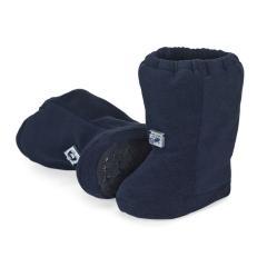 Baby Jungen Mädchen Winterschuhe Stiefel Microfleece gefüttert Thinsulate Fleecefutter Gummizug rutschfeste Sohle einfarbig, marineblau - 5101910