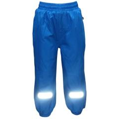 Mädchen Regenhose Matschhose Fleecefutter wasserundurchlässig, blau