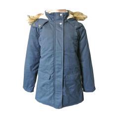 Mädchen Mantel Jacke Winterjacke Anorak, dunkelblau - G-FW18-JAC000