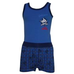 Capt n Sharky Unterwäsche Set Jungen, blau