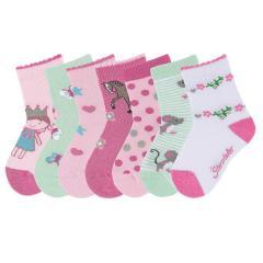 Sterntaler 7-er Set Mädchen Socken, rosa - 8321952