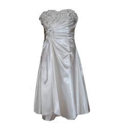 Abendkleid Festkleid Mädchen Hochzeitskleid, weiß
