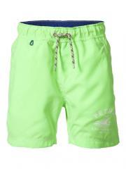 Badehose Badeshorts Jungen einfarbig, grün- B-SS17-SWS950