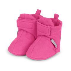 Baby Schuhe Mädchen, elastisch und mit Klettverschluss, magenta - 2101700-magen