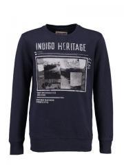 Sweater Pullover Jungen Indigo Heritage, dunkelblau