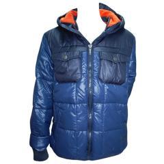 Winterjacke Anorak Jungen Fleecefutter wasserabweisend, blau