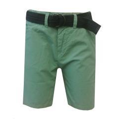 Petrol Industries Jungen Chino-Shorts mit Gürtel, grün - B-SS19-SHO501gr