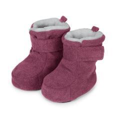Baby Schuhe Mädchen gefüttert mit Stoppern und Klettverschluss, lila - 5101616