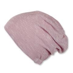 Mädchen Mütze Slouch-Beanie Strickmütze gefüttert gestreift Glitzer von Sterntaler, rosa - 4421712