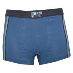 Jungenshorts Boxershorts Unterhosen, mittelblau