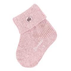 Baby Mädchen Wollsocken Erstlingssöckchen, zartrosa - 8501910