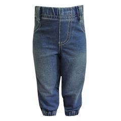 Baby Stoffhose Jungen, jeansblau