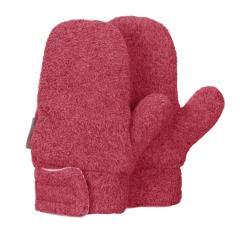Mädchen Fäustlinge Handschuhe Fleece mit Klettverschluss, beerenr. mel. - 4301420