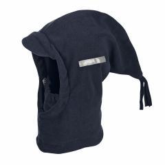Jungen Schalmütze Wintermütze Fleece einfarbig, marine - 4521440