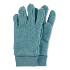Kinder Baby Jungen Handschuhe Fingerhandschuhe aus Microfleece einfarbig , türkis -4331410