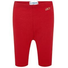 Baby Mädchen Capri-Legging lang einfarbig, rot - 706