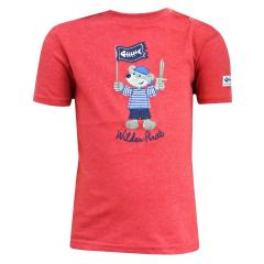 Baby Jungen T-Shirt Kurzarm-Shirt Pirat, rot - 73212114