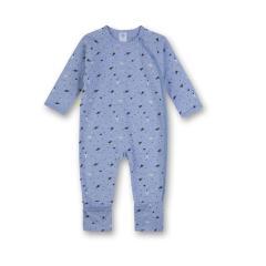 Jungen Baby langer Schlafoverall einteilig Astronaut, blau - 221415