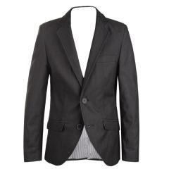 Blazer Jungen festliche Jacke Jacket gemusterter Stoff, anthrazit (ohne Hemd und Krawatte)- 3542205a