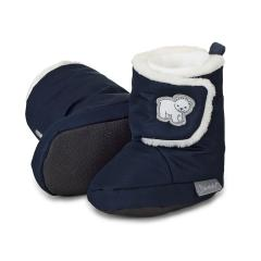 """Baby Schuhe Jungen gefüttert mit rutschfester Sohle, wasserabweisend, Klettverschluss """"Eisbär"""", marine - 5101803"""