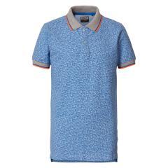Jungen Shirt T-shirt Poloshirt, blau - B-HS19-POL941