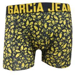 Jungen Boxershorts Hip Shorts gemustert, anthrazit - b73733