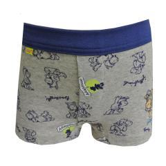 Hip Short Boxershorts Schaf Motiv, grau