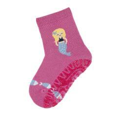 "Mädchen Anti-Rutsch-Socken Glitzer Fliesen Flitzer Sun ""Meerjungfrau"", pink - 8022008"