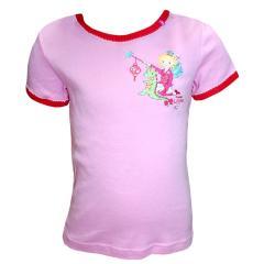 Prinzessin Lillifee - Unterhemd kurzarm Mädchen, pink - 935811