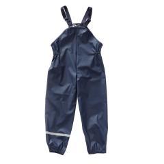 Kinder Regenlatzhose, wasserdicht, reflektierender Streifen, marine -4852842