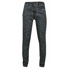 Jungen Jeans Hose glänzend, grau -632012g