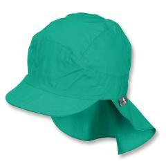 Jungen Schirmmütze mit Nackenschutz, Sommermütze, LSF 50+, grün - 1531430